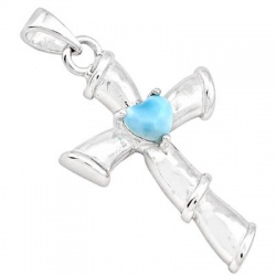enthralling-sterling-silver-holly-cross-pendant-decorated-with-heart-shape-larimar